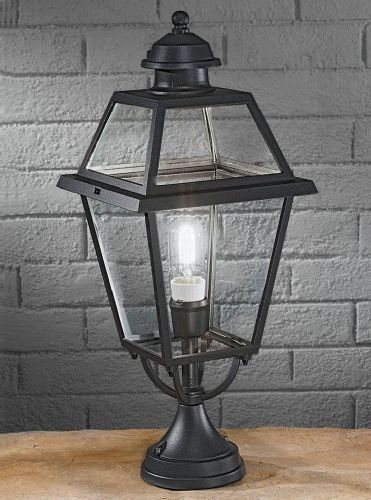 Franklite EXT6603 Dark Grey Pedestal Light